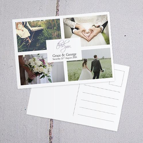 Grace Thank You Postcard