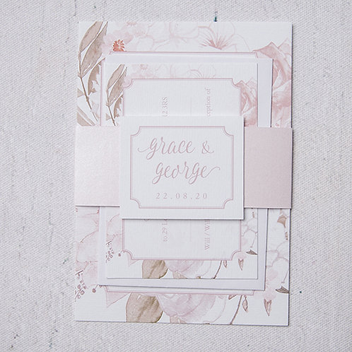 Summer Wedding Invitation Bundle