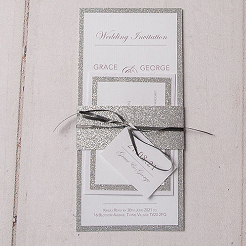 Rebecca Tall Wedding Invitation Bundle