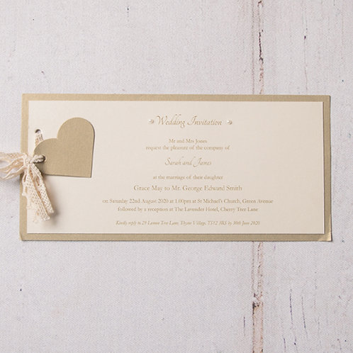 Eleanor Flat Wedding Invitation