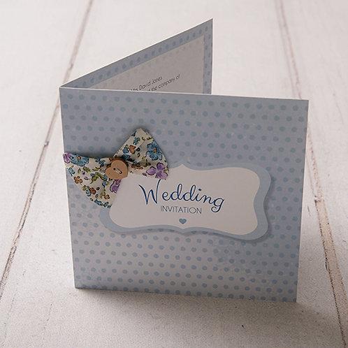 Dotty Wedding Invitation