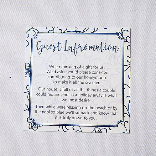 Sophia Information Card