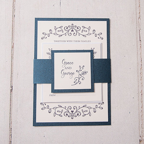Paige Wedding Invitation Bundle