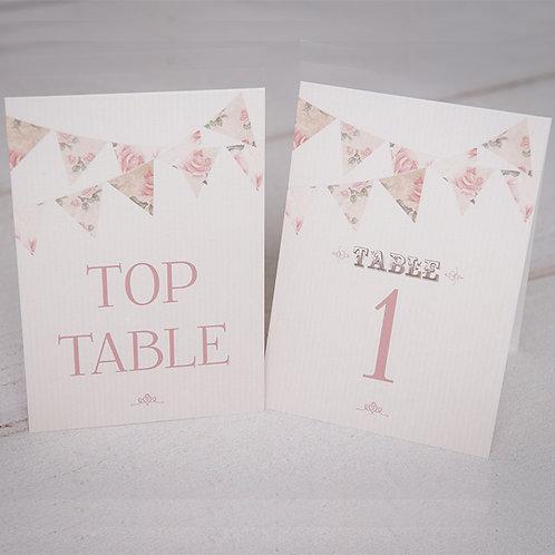 Savannah Table Number