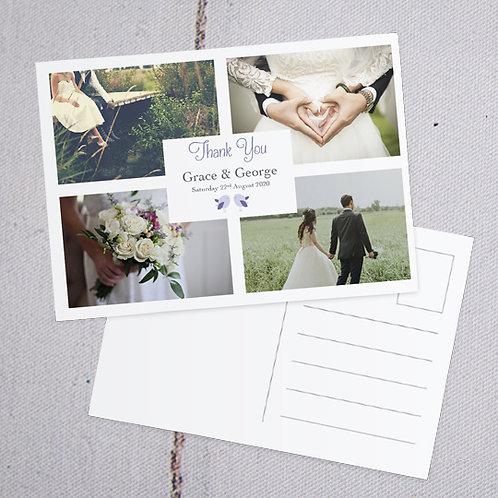 Ava Thank You Postcard