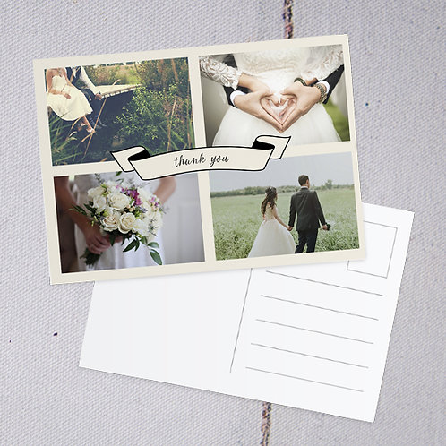 Betty Thank You Postcard