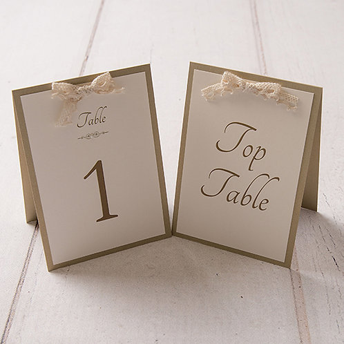 Eleanor Table Number