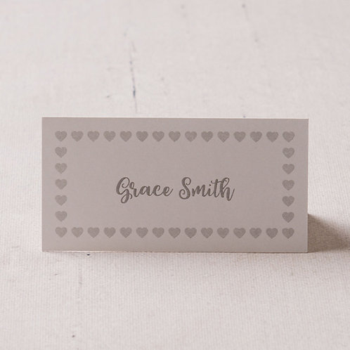 Bryony Place Card