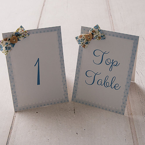 Dotty Table Number