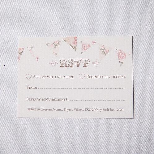 Savannah Reply Card