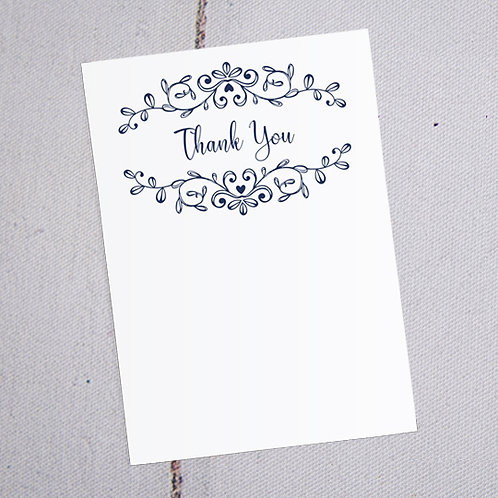 Paige Thank You Note Cards