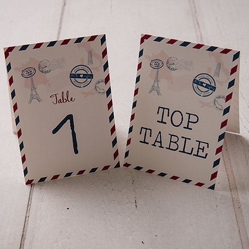 Sky Table Number
