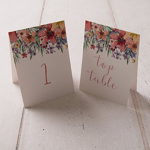Lola Table Number