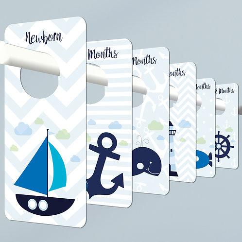 Nautical Wardrobe Dividers