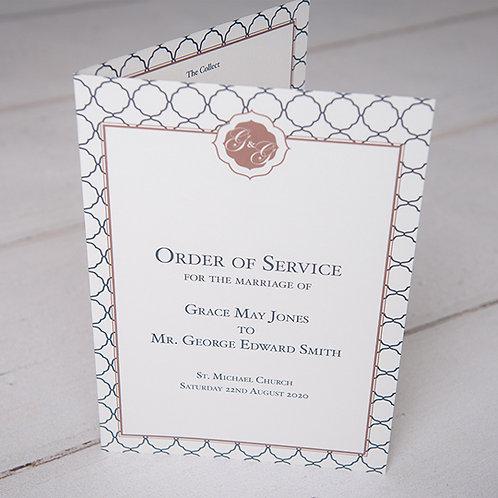 Milan Order of Service