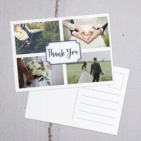 Sophia Thank You Postcard