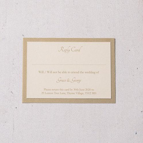 Eleanor Reply Card