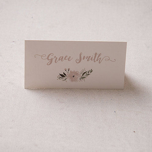Florence Place Card