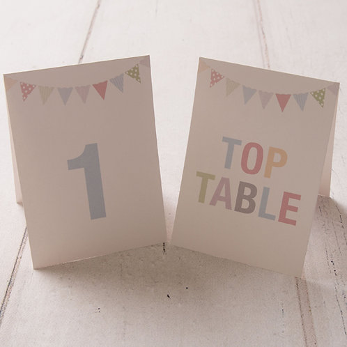 Freya Table Number