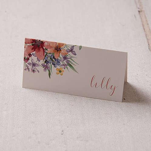Lola Place Card