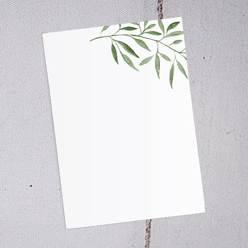 Sorrento Thank You Note Cards