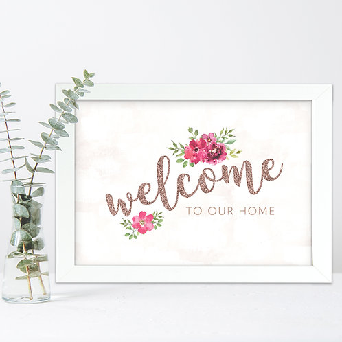 Welcome to our Home Print