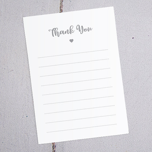 Bryony Thank You Note Cards