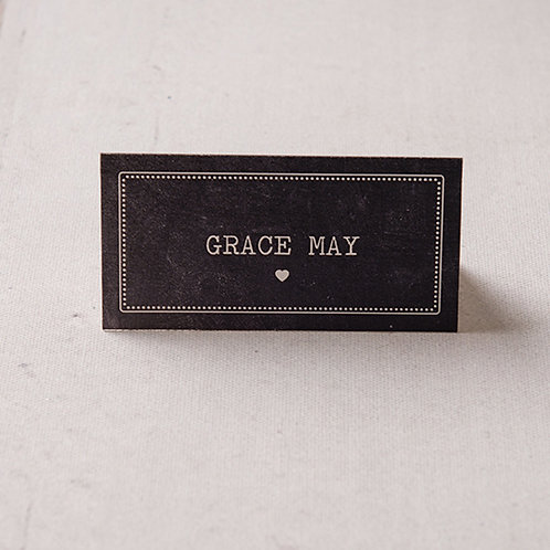 Harper Place Card
