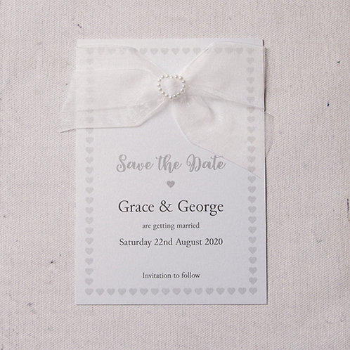 Bryony Save the Date Postcard