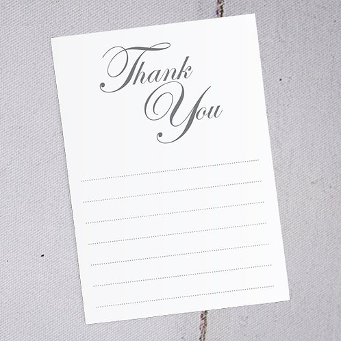 Emma Thank You Note Cards