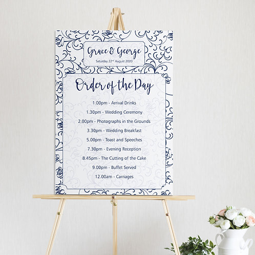 Sophia Order of the Day Sign
