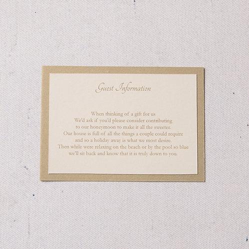 Eleanor Information Card