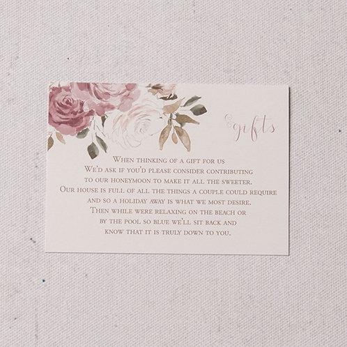 Jessica Information Card