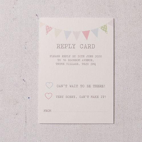 Freya Reply Card