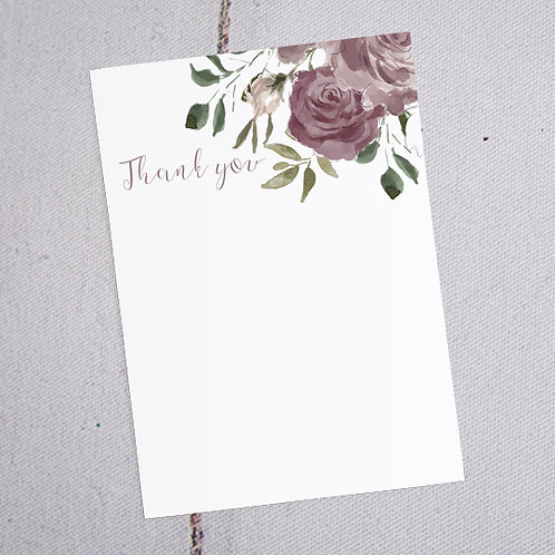 Jessica Thank You Note Cards