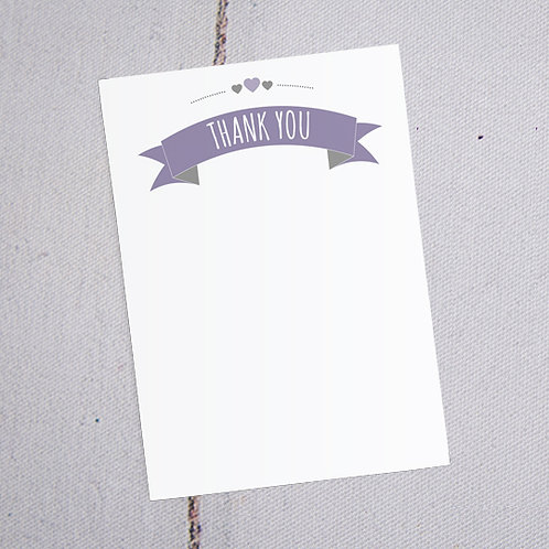 May Thank You Note Cards