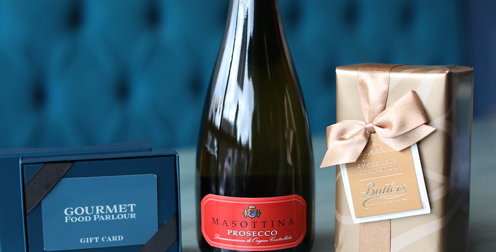 Prosecco Gift Set incl €25 Gift Card &  Irish Chocolates