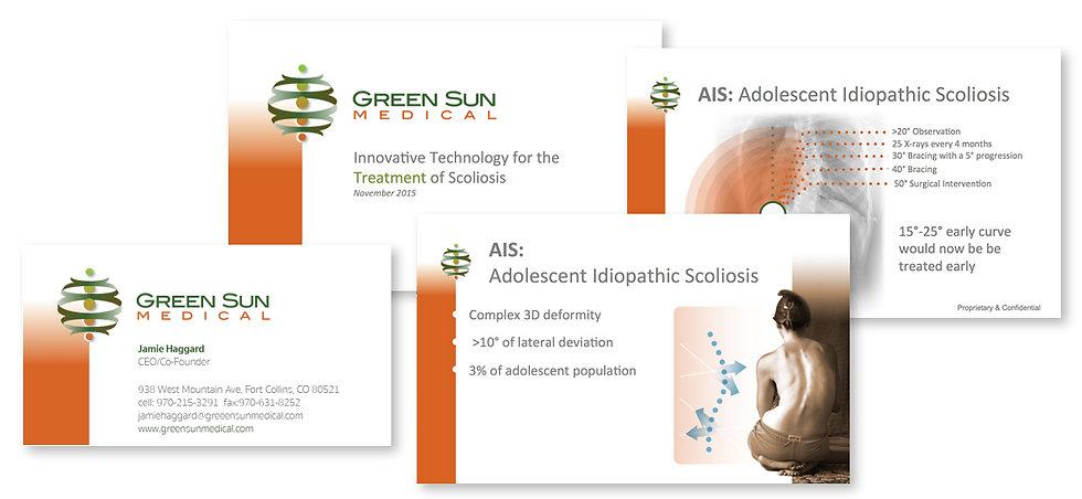 Gree Sun Medical Braning Slides