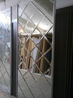 Панно на раздвижной двери