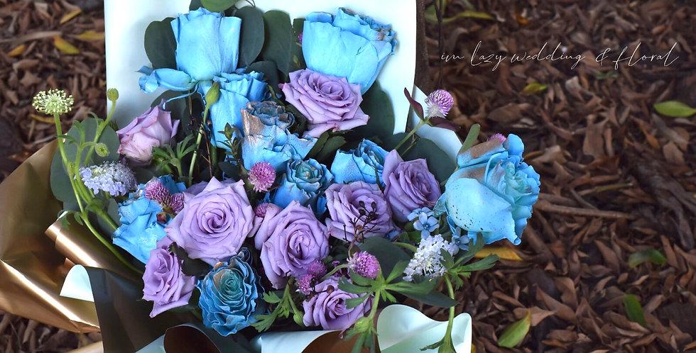 阿拉丁公主情人節花束