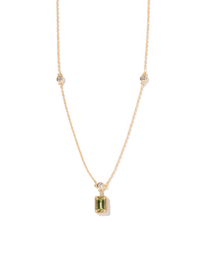 Peridot Birthstone Necklace