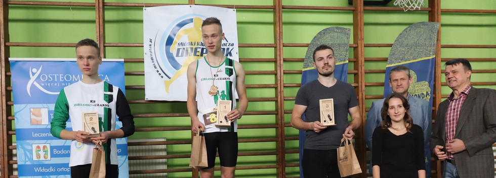 Kacper Hawryś 2 miejsce, Erwin Hawryś 1 miejsce M20