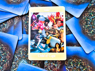 Tarot Card of the week: Page of Cups