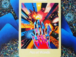 Tarot card of the week: Ace of Wands