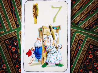 Tarot card of the week: Seven of Wands