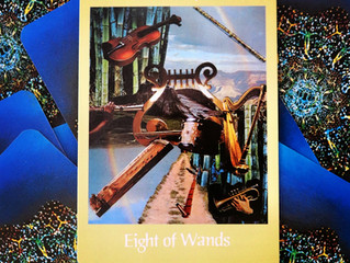 Tarot Card of the Week: 8 of Wands