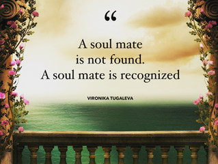 Have you met a soul mate?