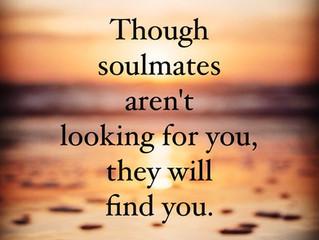 Soulmates share similar energy...