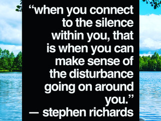 💫🙏It is during the silence that we hear the truth ❤️✨