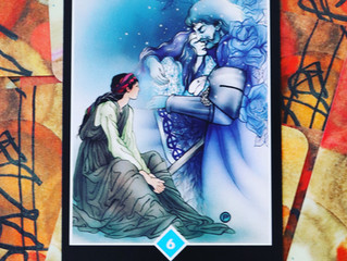 🌺Tarot Card of the Week: 6 of Cups 🧚‍♂️